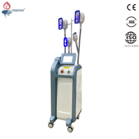 Newest Vertical 4 Vacuum Cryo Handles Working At The Same Time Fat Freezing Cryolipolysis Body Slimming Machine TM-928
