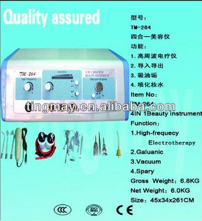 portable high frequency multifunction skin care beauty equipment tm-264