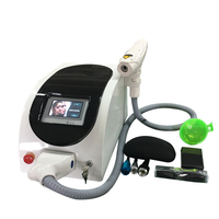 Handheld laser gun q switched nd yag laser machine
