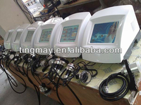Ultrasonic cavitation liposuction vacuum rf fat reduction machine