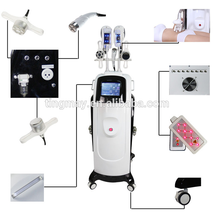 Lowest temperature to -10 cooltech beautiful slimming machine / fat freezing cryolipolysis slimming machine