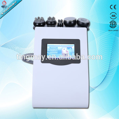 portable 5 in 1 vacuum rf ultrasonic cavitation machine with low price