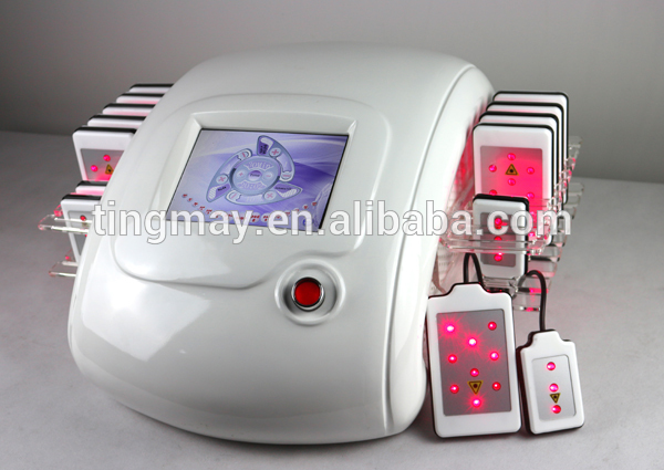 Chinese supplier body shape system 650nm 760nm lipo laser cellulite home machine