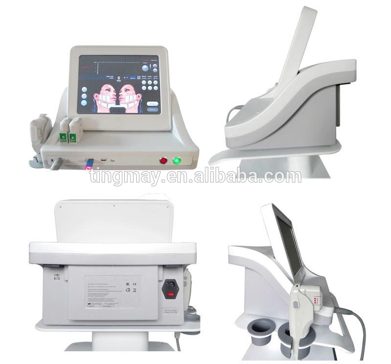 HIFU for wrinkle removal , ultrasonic hifu beauty equipment ,5 Heads Facial Lifting Machine
