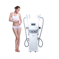 Ultrasonic cavitation rf cryolipolysis slimming weight loss machine