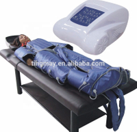 Popular 3 in 1 pressotherapy machine combine Infrared sauna body wrap and ems electro stimulation