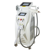 Vertical ipl rf elight nd yag laser hair removal machine wrinkle removal