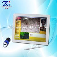 Body Skin And Hair Analyzer Camera with skin analyzer system