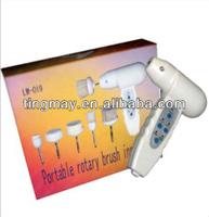 Mini home face care rotary brush beauty device skin cleaning machine