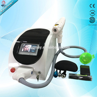 Video guide Long pulse Q-switch nd yag laser machine tattoo removal