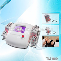Hot sale!!! 14 laser slimming pads home laser liposuction