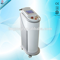vertical 8 inches touch screen nd yag laser machine salon use tattoo removal