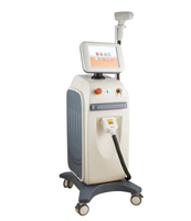 salon use vertical permanent 808nm diode laser hair removal machine