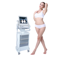 Hifu machine with 5 cartridges 10000 shots/ high intensity focused ultrasoundm slimming machine