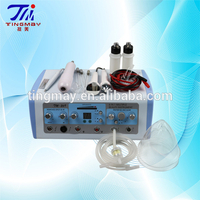 6 in 1 ultrosonic+vacuum+spray+high frequency beauty salon equipment medical tm-269