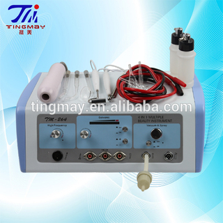 Vacuum cleaner+spray bottle+high frequency+galvanic skin rejuvenation beauty machine tm-264