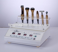 Electric essence osmosis/electroporation/galvanic microcurrent facial machine