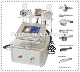 Multifunction slimming machine/Vacuum rf ultrasonic cavitation and rf