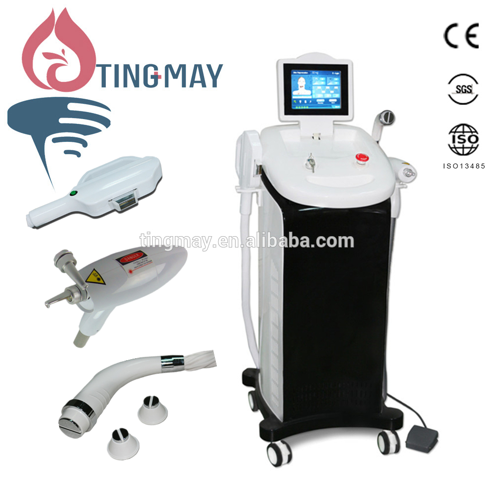 Vertical IPL SHR Machine for hair removal/elight ipl rf nd yag laser /ipl shr multifunction machine