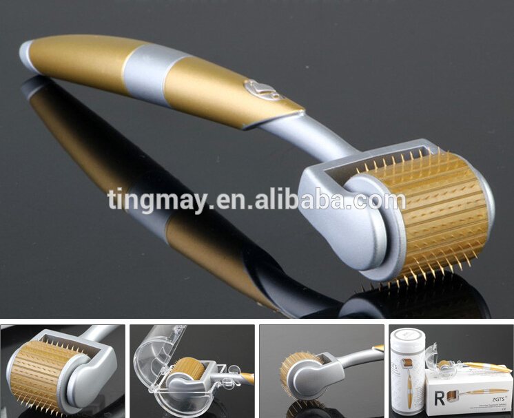 192 needles titanium microneedle therapy machine zgts derma roller