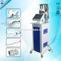 Vertical velashape equipment / velashape vacuum roller rf body shaping with CE