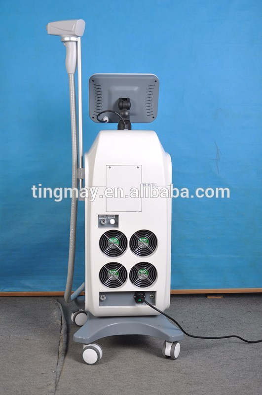 2018 trending products 808nm diode laser permanent hair removal machine