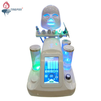 Hot selling 7 in 1 hydro dermabrasion facial machine oxygen jet peel bio lift rf skin tightening beauty machine on sale
