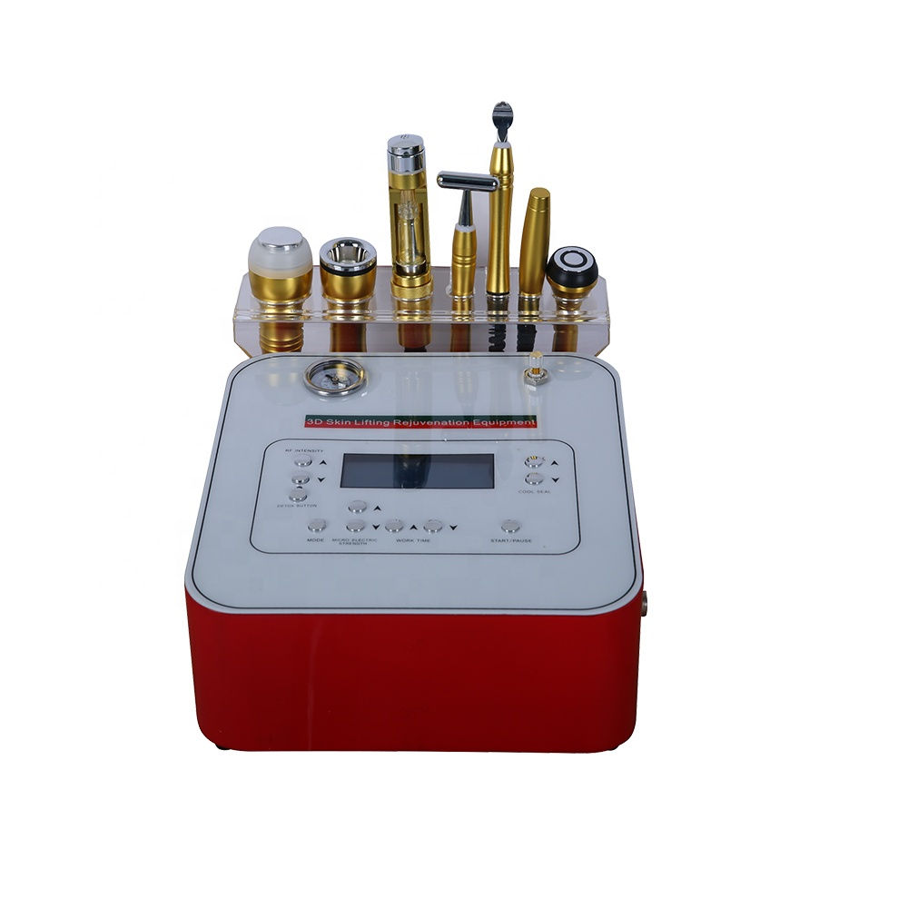 Factory price 7 in 1 cryo electroporation no needle mesotherapy diamond microdermabrasion machine
