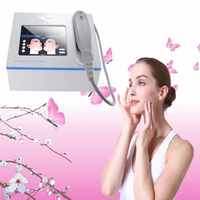 Standard 3cartridges mini hifu machine for face lift wrinkle removal