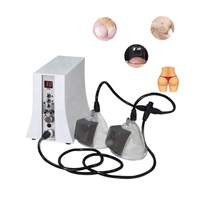 Portable salon equipment breast enhancement vacuum butt lifting cupping machine