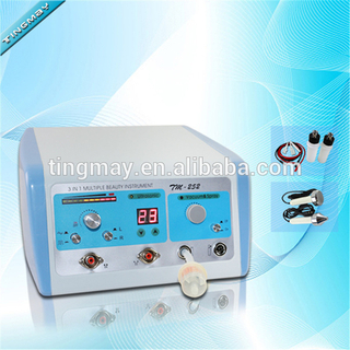 3in1 Ultrasonic beauty skin care devices facial massage equipment