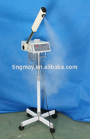Stand ozone hair steamer and facial steamer