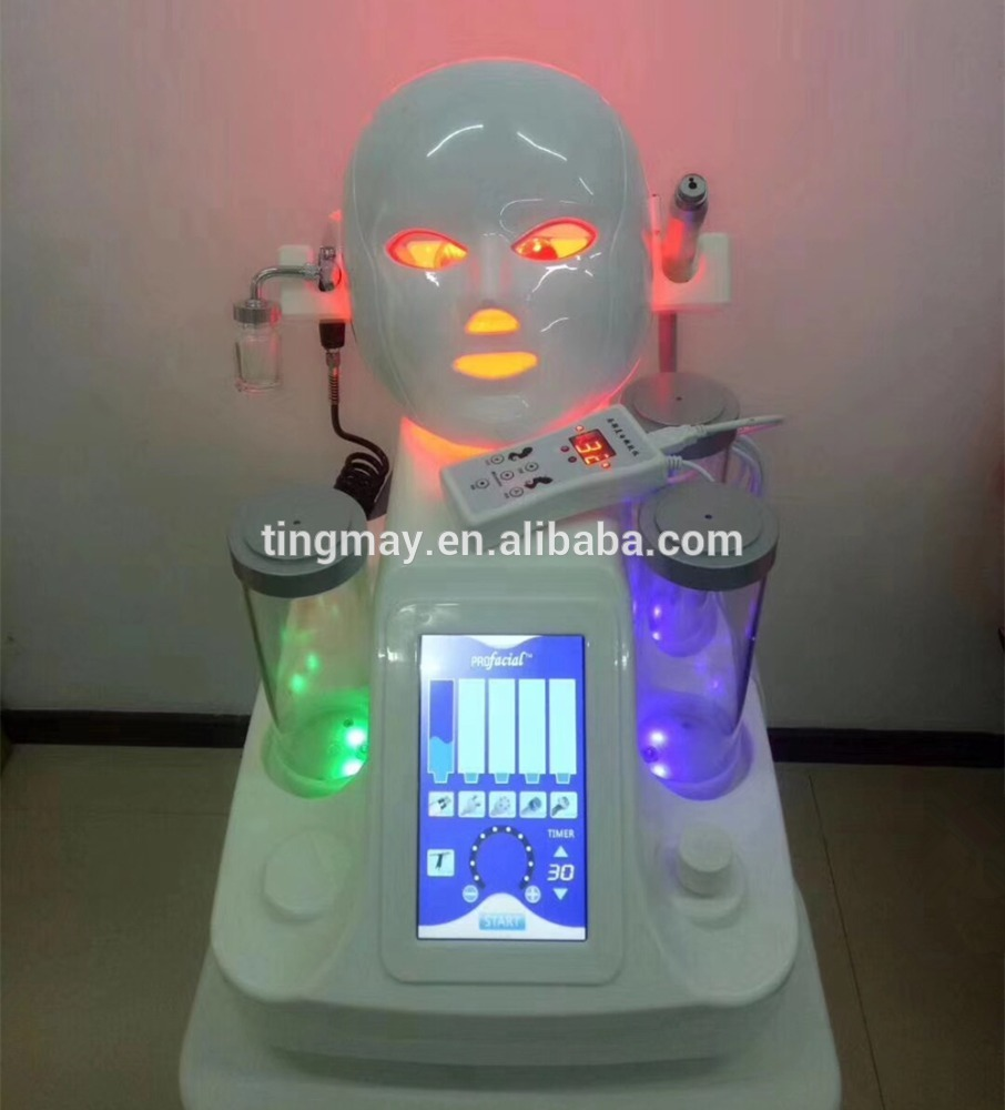 7 in 1 hydro dermabrasion spa oxygen therapy facial beauty machine