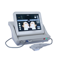Smas hifu with 3 or 5 cartridges 10000 shot/ high intensity focused ultrasound hifu for face and body