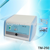 TM-250 high frequency galvanic facial machine multifunction beauty equipment