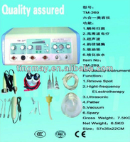 6 in 1 ultrasonic facial cleaning and breast enhancement machine tm-269
