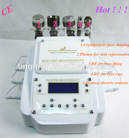 Hot no needle mesotherapy beauty machine skin care device