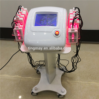 Professional good effect slimming machine lipo laser 650nm 760nm