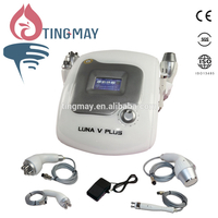 4-1 Tripolar/Bipolar/Multipolar Radio Frequency RF Cellulite Removal Cavitation Slimming Machine LUNA