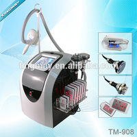 Multifunction cryolipolysis ultrasonic cavitation beauty machine