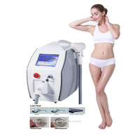 Portable carbon laser peel q switch nd yag laser tattoo removal machine
