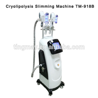 6 in 1 cryolipolysis machine 5 handpieces cryolipolysis fat freeze machine