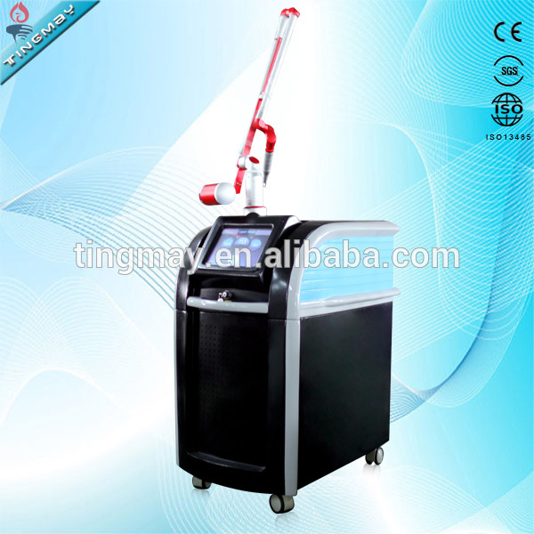 2000Watt Picosecond Q Switched Nd Yag Laser for all kinds of tattoo removal