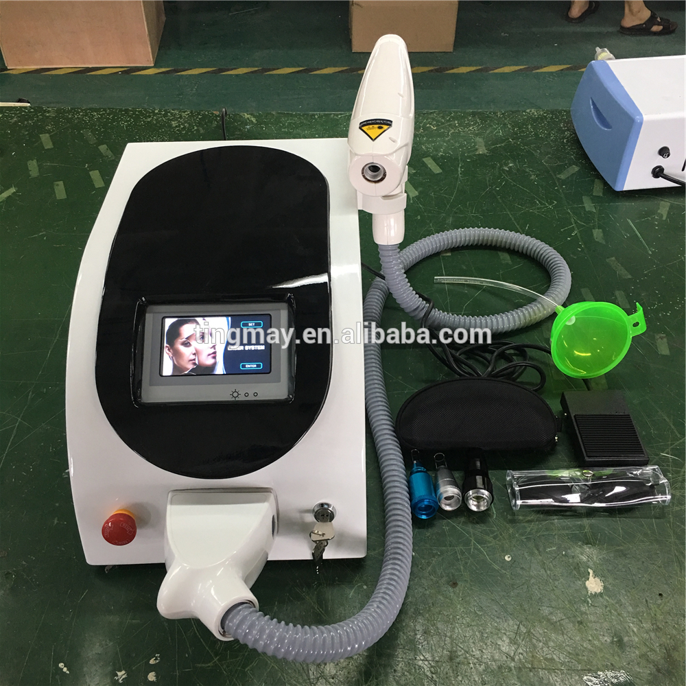 2019 Tingmay Q switched ND YAG Laser Yag Laser Tattoo Removal Machine Price / Carbon Laser Peel Machine