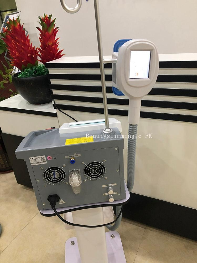 Portable criolipolise Cool tech cryotherapy fat freezing machine have 2 handles for replacement