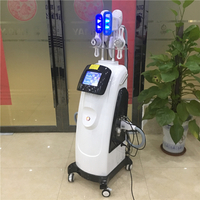3 Cryo Handles Double Chin Cryolipolysis Cavitation RF Lipo Laser Machine Fat Freeze TM-918B