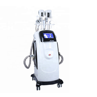 Star product cryolipolysis machine 2 cryo+cavitation+rf+lipo laser