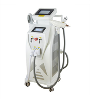 E light ipl rf nd yag laser 4 in 1 shr hair removal machine