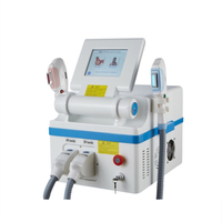 two handpieces 360 OPT permanent hair removal machine