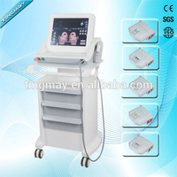 portable 7 cartridges face lift HIFU machine /high intensity focused ultrasound HIFU / 2017 hifu machine